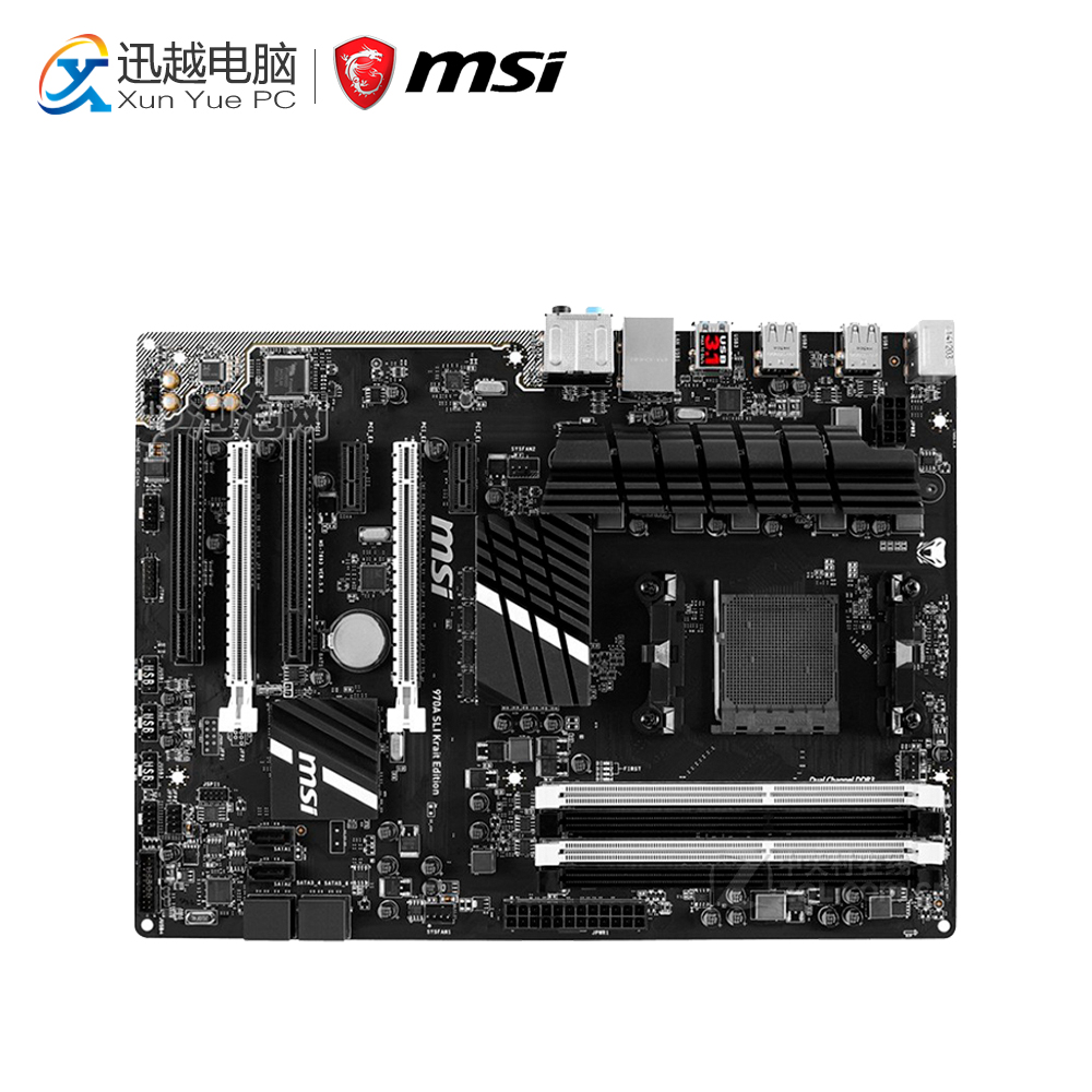 MSI 970A-G43 PLUS Desktop Motherboard 970 Socket AM3 DDR3 32G STAT3 USB3.0 ATX цены онлайн
