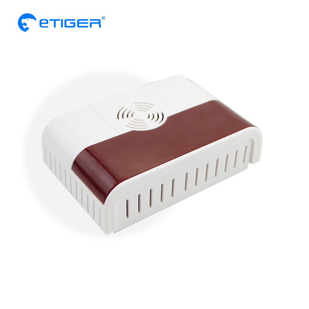 Etiger  Wireless Combustible Gas Detector for GSM Burglar Auto Dial Alarm Security Home Alarms golden security lpg detector wireless digital led display combustible gas detector for home alarm system