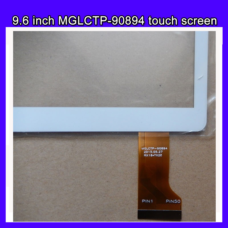 New 9.6'' inch 9.6 inch Touch Screen Panel Glass Digitizer MGLCTP-90894 for 9.6 inch  I960,T950S,MTK6582,MTK6592 tablet for new mglctp 701271 yj371fpc v1 replacement touch screen digitizer glass 7 inch black white free shipping