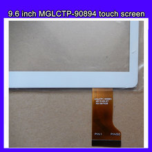 "New 9.6"" inch 9.6 inch Touch Screen Panel Glass Digitizer MGLCTP-90894 for 9.6 inch  I960,T950S,MTK6582,MTK6592 tablet"