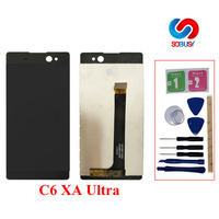 LCD Display For SONY Xperia C6 XA Ultra F3211 F3212 F3215 F3216 F3213 LCD Touch Screen Digitizer Assembly Replacement Tela Parts