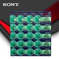 20 шт. Sony 100% оригинал 377 SR626SW SR626 AG4 1,55 в серебряный оксид часы батарея SR626SW 377 кнопочная монетница сделано в японии