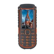 Прочный мобильный телефон uhappy A5000 + dual sim карты 4400 мАч противоударный телефон с фонариком функцией Power Bank PK Runbo f1