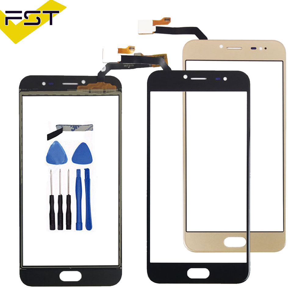 For Ulefone Gemini pro Touch Screen Touch Panel Sensor Black Colors Phone Repair +Free Tools