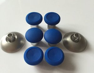 Image 3 - Swap Metal Magnetic Thumbstick Joystick Thumb Stick Grip Cap For Xbox One elite PS4 Playstation 4 Nintendo Switch Pro Controller