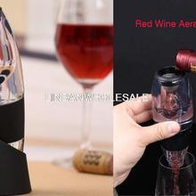 Аэратор для вина, стеклянный графин, винные аксессуары подарочный набор, классические вина барботер, быстро графин