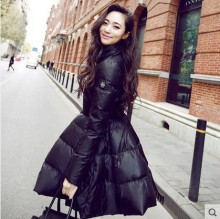 New Coats & Jackets Nice Down Jacket slim Winter Jacket Women  Long Duck Down Coat A word skirt Women's winter jacket H81811