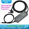 Suitable Siemens PLC Programming Cable S7 200 PLC Data Line USB PPI Download Cable 6ES7 901