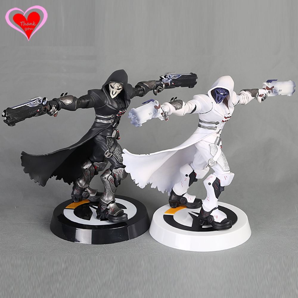 Love Thank You   game watch  Reaper Black White Skin pvc figure toy Collectibles Model gift doll twister family board game that ties you up in knots