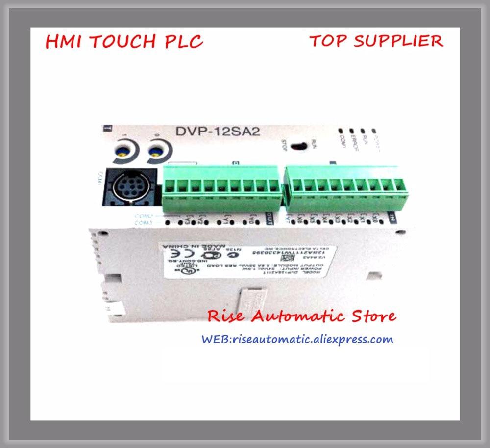 New Original Programmable Controller PLC Module DC24V 8 DI 4 DO relay DVP12SA211RNew Original Programmable Controller PLC Module DC24V 8 DI 4 DO relay DVP12SA211R