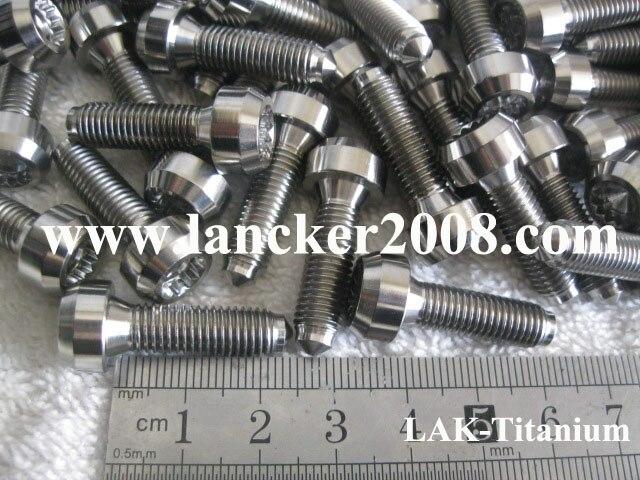 Aliexpress com : Buy M7*30 Gr5 Titanium 12 Gear cap head bolt/screw