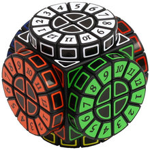 кубик рубика Time Machine магический куб творческие Сувенир издание игрушка-головоломка Cubo Magico с дополнительным наклейки X'mas идея подарка Brithday Подарок