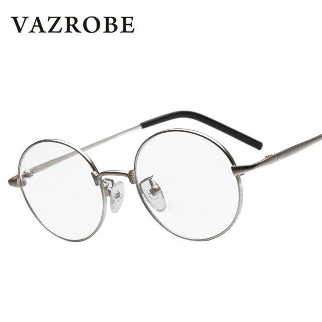 Vazrobe Small Round Glasses Men Women Eyeglasses Frames for Man ...