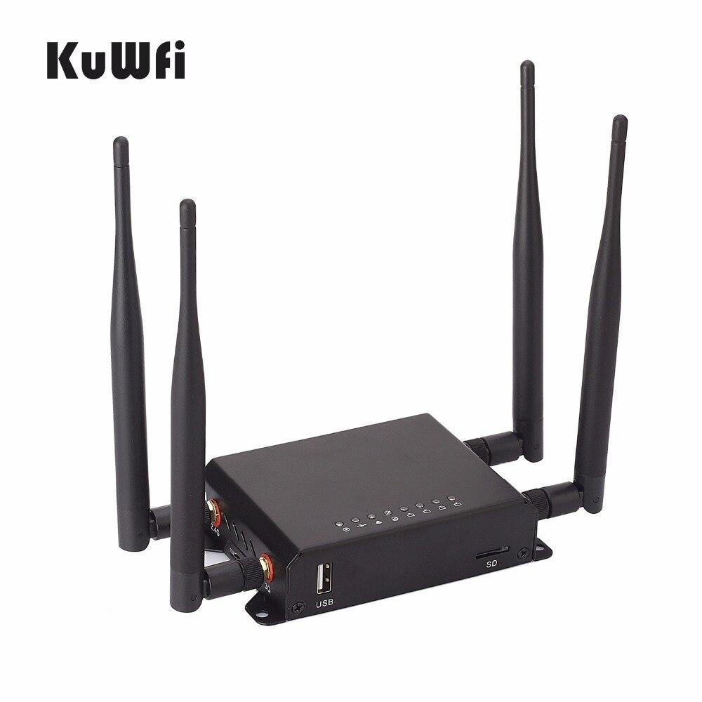 300 Мбит/с, высокая мощность, дальность действия 128 м, OpenWrt 3G/4G SIM, автомобильный беспроводной маршрутизатор, Wi Fi ретранслятор с vpn 4 съемной анте