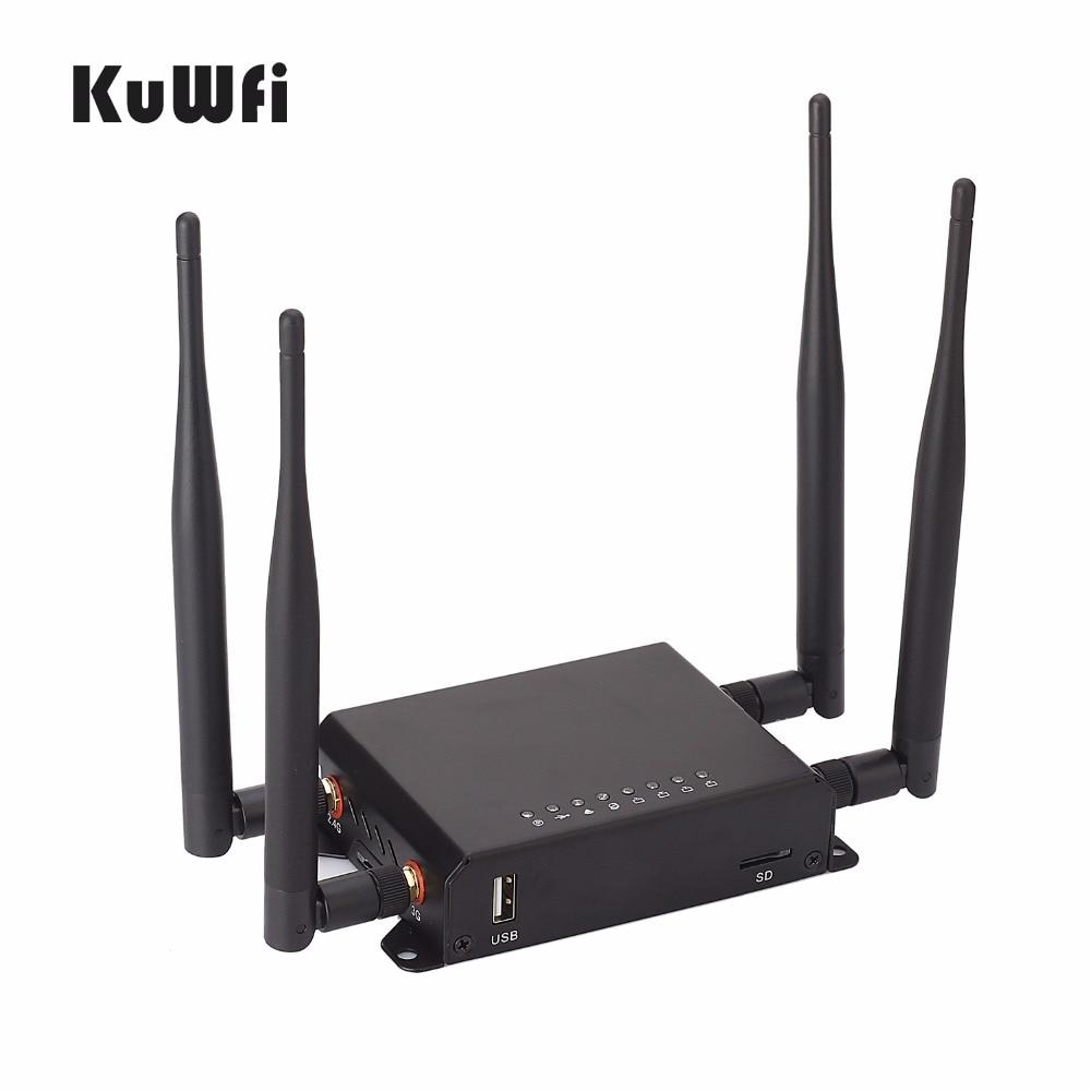 300 Mbps High Power Lange Range 128 M OpenWrt 3G / 4G SIM Auto - Netwerkapparatuur - Foto 2