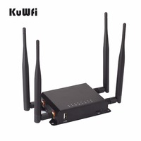 300Mbps High Power Long Range 128M OpenWrt 3G/4G SIM Car Wireless Router Wifi Repeater with VPN 4removable Antenna Strong Signal