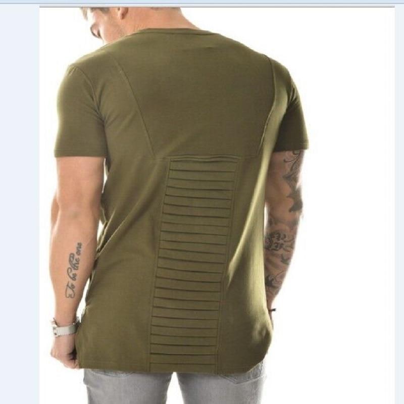 7c4bbab3e3c HZIJUE-Hommes-Mode-2017-T-chemise-Homme-Hommes-Arm-e-Vert-T-shirt-swag-V-tements.jpg
