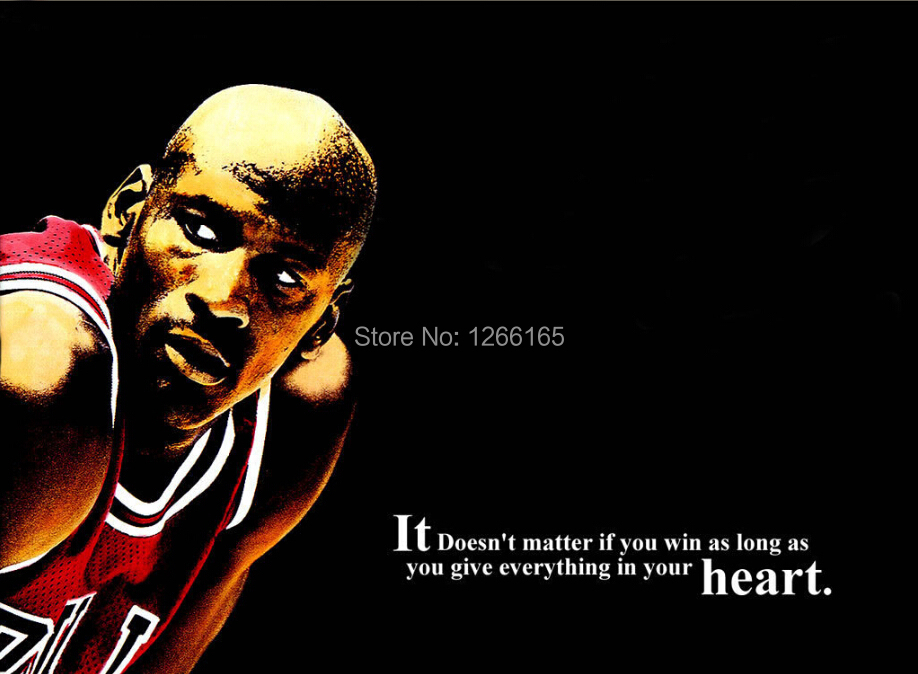 M07 Michael Jordan Basketball Super Star Sport Poster Home