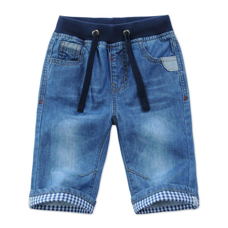 Джинсовые шорты для мальчиков, на возраст 2-14 лет