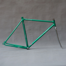 цена на Customize Fixie Bike frame Chrome molybdenum steel ancient single speed fixd gear bike frame 700C bike 49cm 52cm 55cm