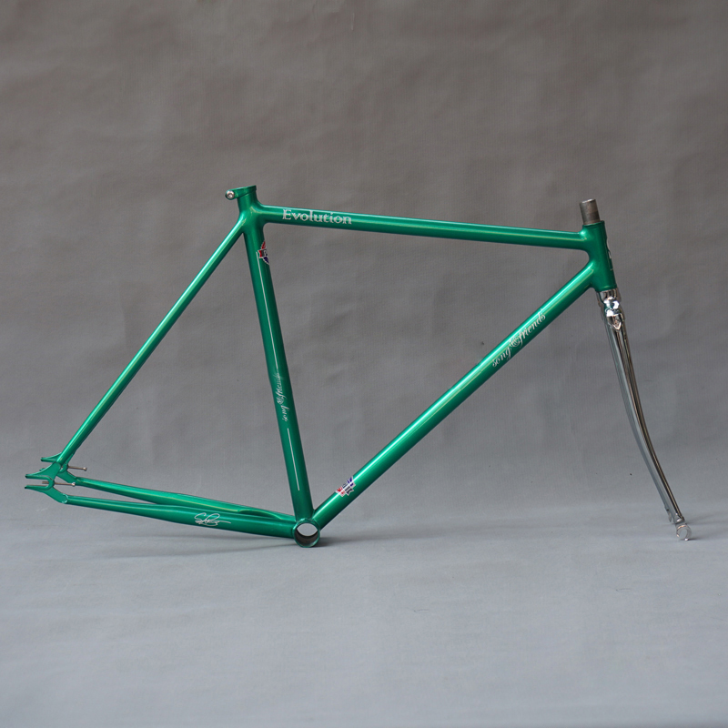 Customize Fixie <font><b>Bike</b></font> <font><b>frame</b></font> Chrome molybdenum <font><b>steel</b></font> ancient single speed fixd gear <font><b>bike</b></font> <font><b>frame</b></font> 700C <font><b>bike</b></font> 49cm 52cm 55cm image
