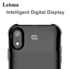 Leioua 5000Mah For Iphone X Xs Battery Charger Case Smart Battery Cover Power Bank 5500 Mah For Iphone Xr Xs Max Battery Case