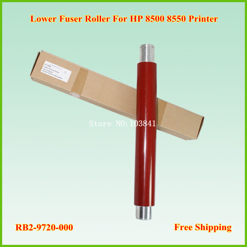 retail compatible Upper fuser roller RB2-0163-000  pressure roller for HP8500 8500 8550 Printer 1pcs for brother printers mfc9140 9330 9340 hl3150 upper fuser roller