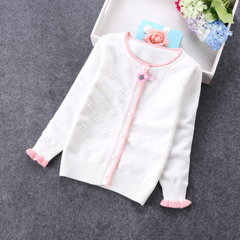 2020 new spring girls sweaters fashion cardigans 2-12years girls cardigans 8671 фото