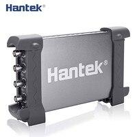 Hantek USB Osciloscópios 6074BD Oscilógrafo Osciloscópio Digital Portátil de 4 Canais 70 MHz com 25 MHz Gerador de Sinal hantek usb oscilloscope usb oscilloscopehantek usb -