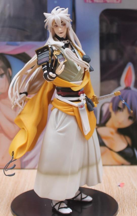 24cm Online Game Touken Ranbu Kogitsunemaru Action Figure Toys Fox Ball Kogitsunemaru Doll PVC ACGN Figure Brinquedos Anime ...