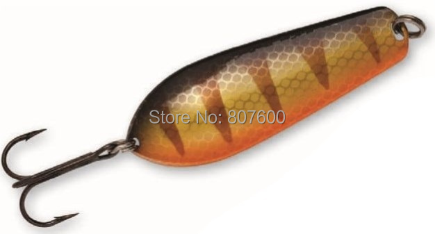 Fishing Spoon Lure Copper Bass Pike Trout Casting/Trolling Spoon 100mm/36g rapala pro bass fishing