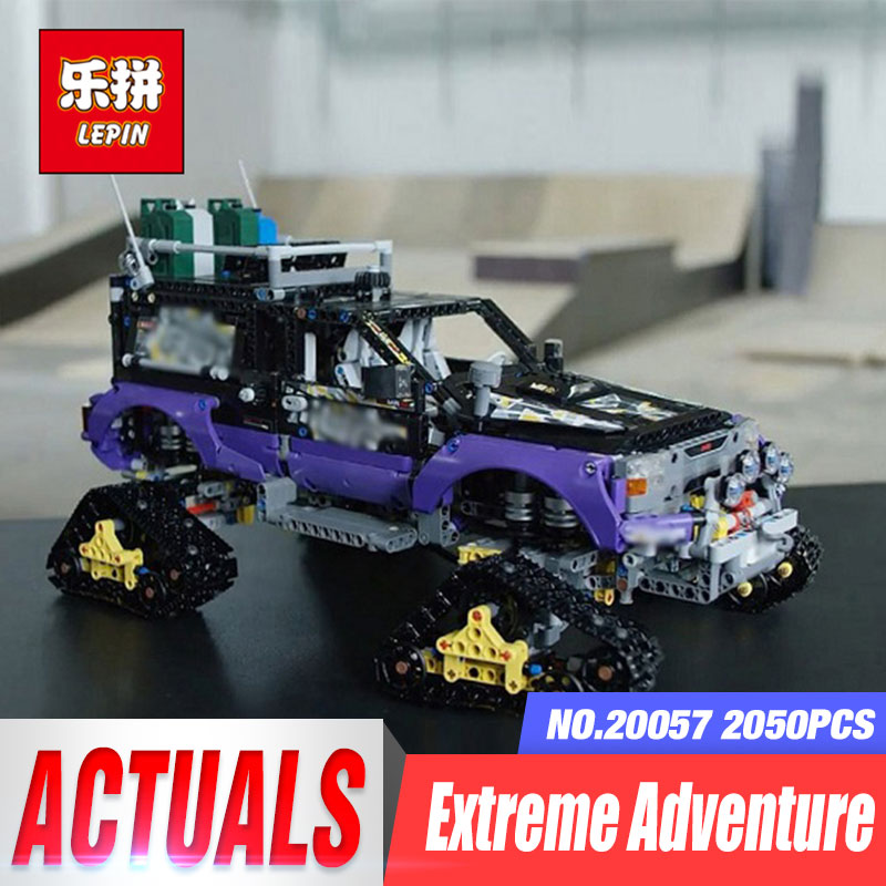 Lepin 20057 2050Pcs Genuine Technic Mechanical Series The Ultimate Extreme Adventure Car Set Building Blocks Bricks Toys 42069