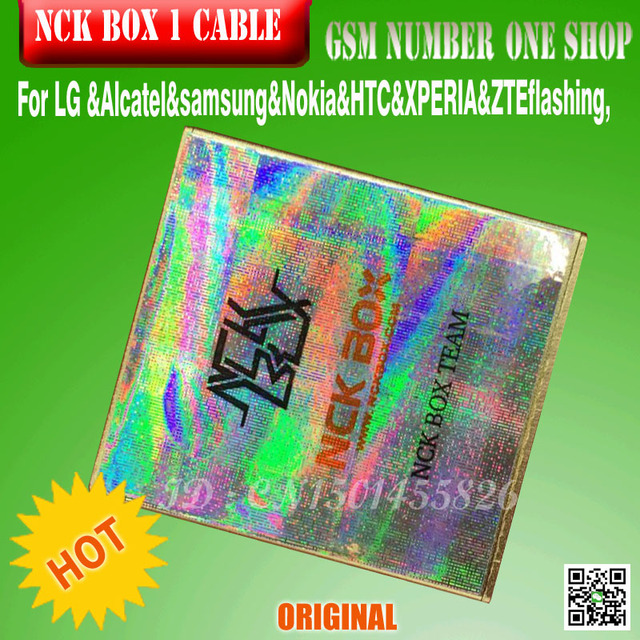 New  Version  Nck  Box with 1 Cable