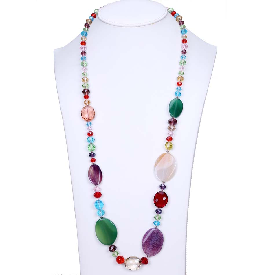 Multi Color Crystal Women...