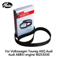 Gates Timing Belt For Volkswagen Toureg AXQ Audi Audi A8BVJ engine Passat 2.8 (2001 2005) 90253X30 auto part