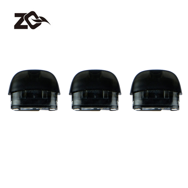 3 cái/lốc Thuốc Lá Điện Tử Hộp Mực Thay Thế Ban Đầu ZQ VI Vape Tank 2 ml Công Suất cho ZQ VI Vape Pod