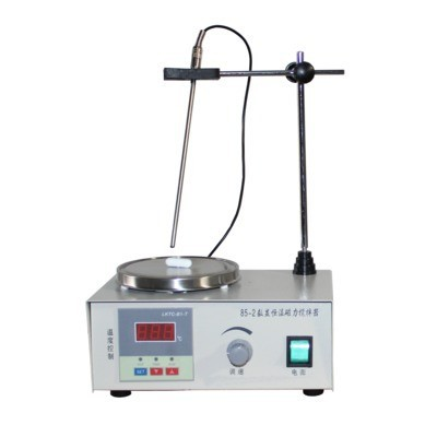 85 2 Magnetic Stirrer With Hot Plate Digital Thermostat 300W 2600 rpm