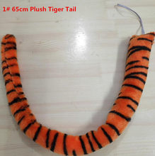 2018 Animal Tail Devil Tiger Leopard Tail Women Girl Boy Cosplay  Accessories Performanc Props Christmas Party 429266e49b