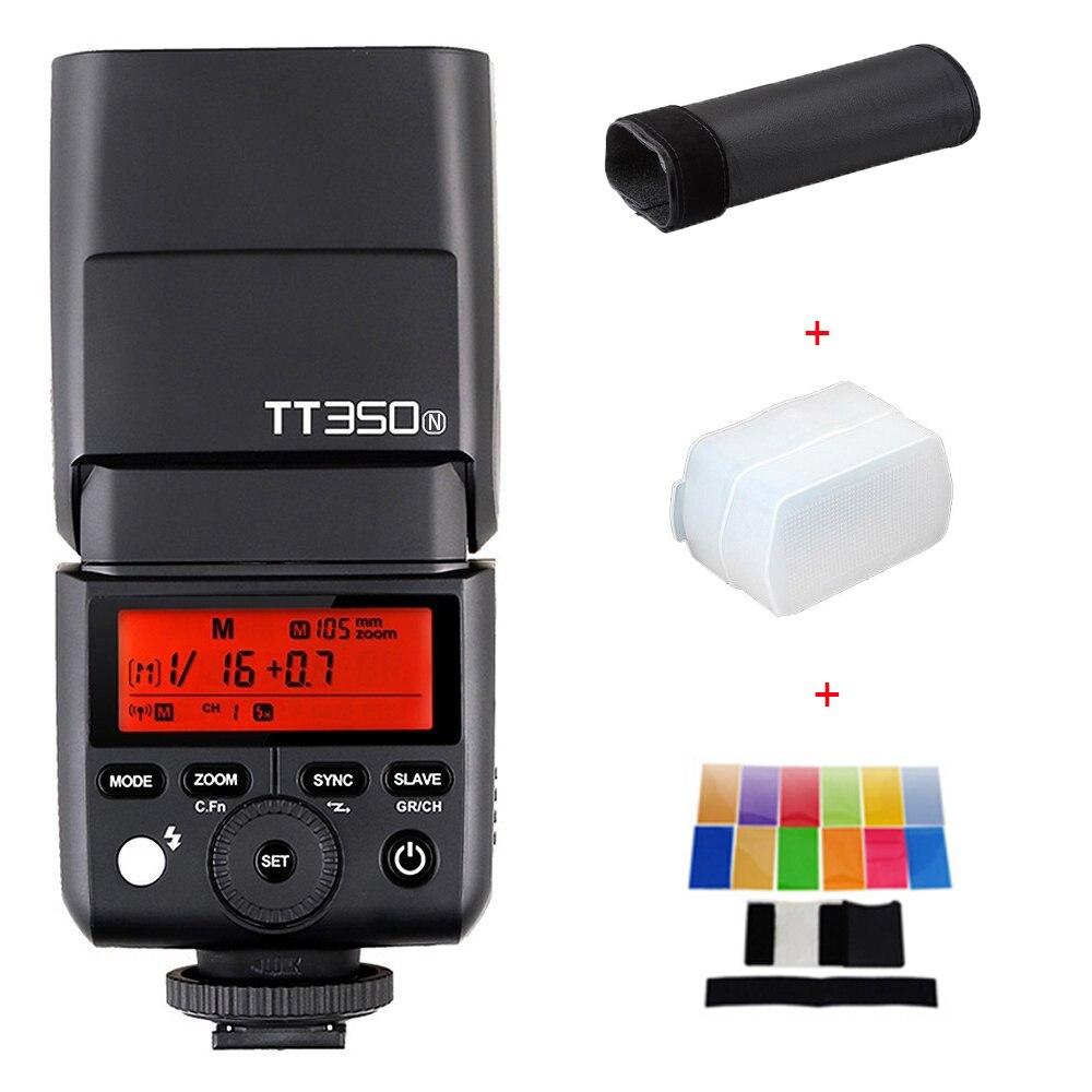 Uus saabumine Godox TT350N Speedlite 2.4G HSS 1 / 8000s TTL GN36 - Kaamera ja foto - Foto 1
