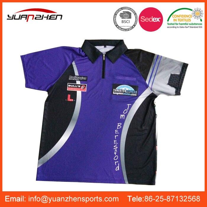 Popular New Fashion Custom Design Darts Polo Shirt Wholesale Darts