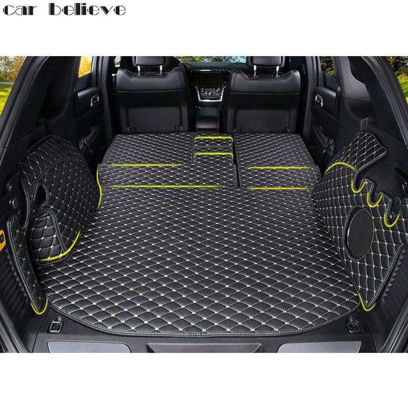2017 Jeep Grand Cherokee Accessories >> Car Believe Custom car trunk mat For jeep grand cherokee 2007 2017 2010 Cargo Liner Interior ...