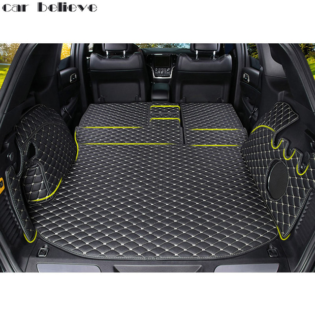 Car Believe Custom Car Trunk Mat For Jeep Grand Cherokee 2007 2017 2010  Cargo Liner Interior