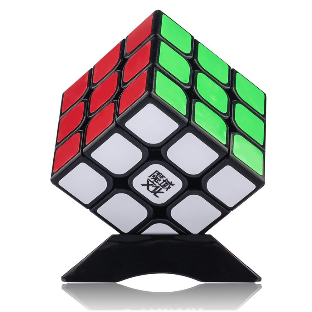 Original Moyu Aolong V2 Speed Magic Cube 3x3x3 Enhanced Edition 3 Layer Smooth Magic Cube Professional Competition Puzzle Cube