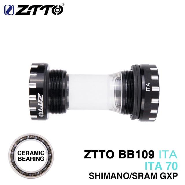 ZTTO CERAMIC Bearing BB109 ITA70 ITA 70 MTB Road bike External Bearing Bottom Brackets Durable
