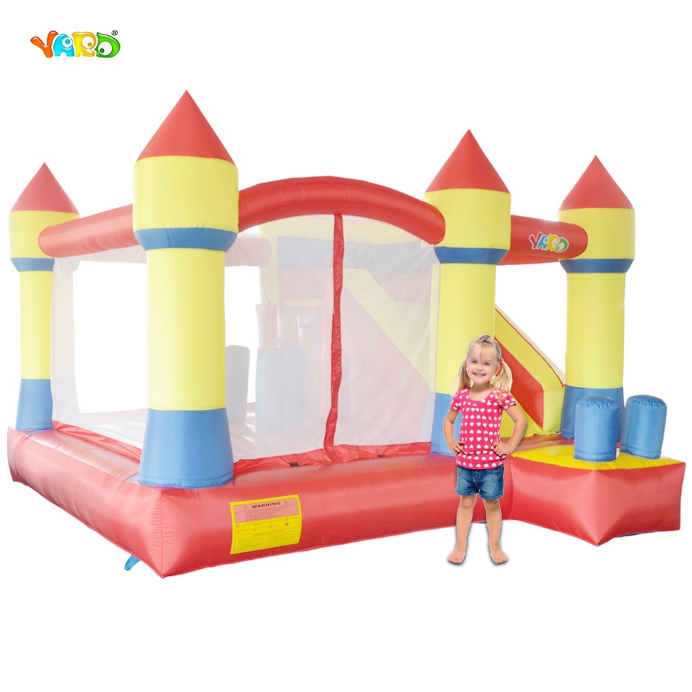YARD Free Shipping Fantastic Bouncy Castle Inflatable Bouncer 6 in 1 All-Round Obstacle Jumper Combo yard free shipping bouncy dream castle inflatable jumper bouncer 6 in 1 all round obstacle combo for home use
