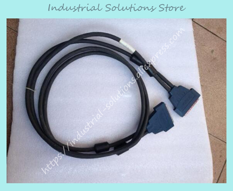 New Original 185095C-02 For National Instruments SH100-100-F Shielded Flex Cable 2M Well Tested Working One Year Warranty a3ncpup21 plc module original brand new well tested working one year warranty