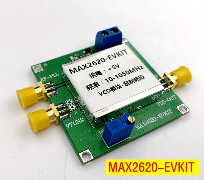 MAX2620 VCO Module RF Oscillator Clock Frequency Source RF OscillatorMAX2620 VCO Module RF Oscillator Clock Frequency Source RF Oscillator