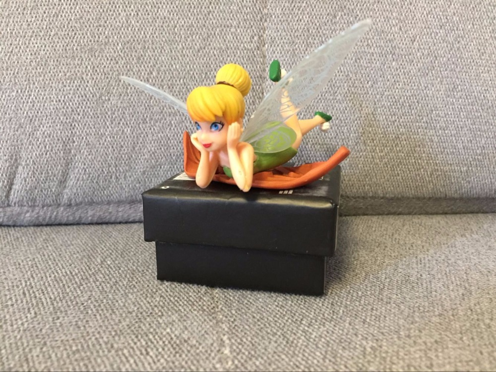6 teile/satz Fee Tinker Bell Feen Prinzessin Figures Pvc puppe ...