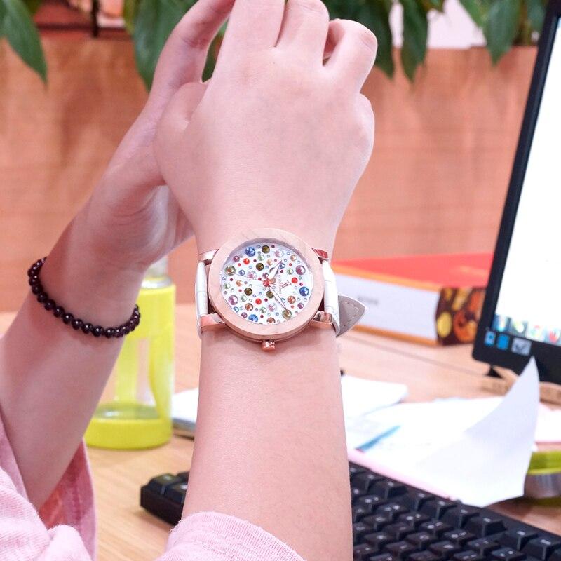 BOBO BIRD Brand Jewelry Bracelet Leather Watch Women Luxury Ladies Watches Maple Wooden Wristwatches relogio feminino C-J05 все цены