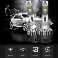 1set Car Led Headlights Kit H7 h4 led H8 HB3/9005 HB4/9006 9012 D1 CREE Chip XHP70 Auto Front Headlamp 110W Car Styling Lighting